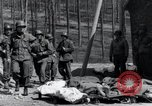 Image of dead Nazi slave laborers Nordhausen Germany, 1945, second 11 stock footage video 65675029059