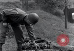 Image of murdered American soldiers Hilden Germany, 1945, second 8 stock footage video 65675029061