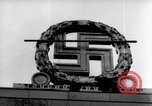 Image of German Swastika emblem Nuremberg Germany, 1945, second 5 stock footage video 65675029062