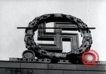 Image of German Swastika emblem Nuremberg Germany, 1945, second 6 stock footage video 65675029062