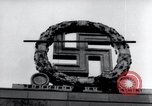 Image of German Swastika emblem Nuremberg Germany, 1945, second 7 stock footage video 65675029062