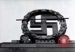 Image of German Swastika emblem Nuremberg Germany, 1945, second 11 stock footage video 65675029062