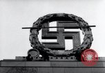 Image of German Swastika emblem Nuremberg Germany, 1945, second 12 stock footage video 65675029062