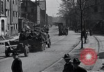 Image of United States Army convoy Tambach Germany, 1945, second 2 stock footage video 65675029072