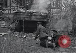 Image of wrecked M-4 tank Osterode Germany, 1945, second 2 stock footage video 65675029075