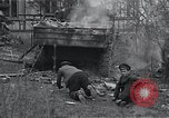 Image of wrecked M-4 tank Osterode Germany, 1945, second 3 stock footage video 65675029075