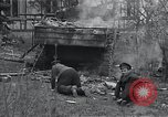 Image of wrecked M-4 tank Osterode Germany, 1945, second 4 stock footage video 65675029075