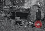 Image of wrecked M-4 tank Osterode Germany, 1945, second 7 stock footage video 65675029075