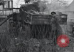Image of wrecked M-4 tank Osterode Germany, 1945, second 8 stock footage video 65675029075