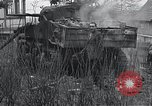 Image of wrecked M-4 tank Osterode Germany, 1945, second 11 stock footage video 65675029075