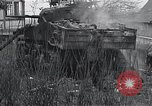 Image of wrecked M-4 tank Osterode Germany, 1945, second 12 stock footage video 65675029075