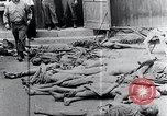Image of Piled corpses Mauthausen Austria, 1945, second 4 stock footage video 65675029085