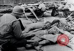 Image of Piled corpses Mauthausen Austria, 1945, second 12 stock footage video 65675029085