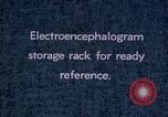 Image of electroencephalograms Washington DC USA, 1943, second 2 stock footage video 65675029098