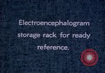 Image of electroencephalograms Washington DC USA, 1943, second 3 stock footage video 65675029098