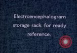 Image of electroencephalograms Washington DC USA, 1943, second 4 stock footage video 65675029098