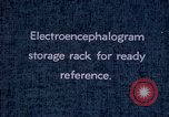 Image of electroencephalograms Washington DC USA, 1943, second 5 stock footage video 65675029098