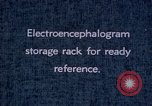 Image of electroencephalograms Washington DC USA, 1943, second 6 stock footage video 65675029098