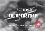 Image of Operation Thunderstorm Wilmington Ohio USA, 1947, second 4 stock footage video 65675029110