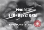 Image of Operation Thunderstorm Wilmington Ohio USA, 1947, second 6 stock footage video 65675029110