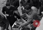 Image of ration of eggs and oranges Colomiers France, 1944, second 5 stock footage video 65675029129