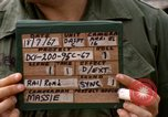 Image of American Army officer Saigon Vietnam, 1967, second 2 stock footage video 65675029137