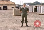 Image of American Army officer Saigon Vietnam, 1967, second 8 stock footage video 65675029137