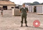 Image of American Army officer Saigon Vietnam, 1967, second 11 stock footage video 65675029137