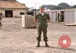 Image of American Army officer Saigon Vietnam, 1967, second 12 stock footage video 65675029137