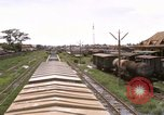 Image of railroad yard Saigon Vietnam, 1967, second 2 stock footage video 65675029138