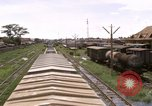 Image of railroad yard Saigon Vietnam, 1967, second 4 stock footage video 65675029138