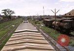Image of railroad yard Saigon Vietnam, 1967, second 11 stock footage video 65675029138