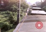 Image of armored train Saigon Vietnam, 1967, second 1 stock footage video 65675029140