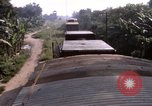 Image of armored train Saigon Vietnam, 1967, second 8 stock footage video 65675029140