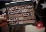 Image of stencil supply crates Saigon Vietnam, 1967, second 5 stock footage video 65675029143