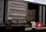 Image of unloading cargo Saigon Vietnam, 1967, second 3 stock footage video 65675029150