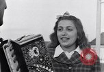 Image of Italian girl sings Frattamagore Italy, 1944, second 12 stock footage video 65675029159