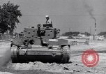 Image of tank comparison tests Aberdeen Maryland USA, 1944, second 10 stock footage video 65675029166