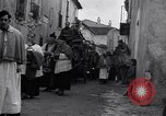 Image of funeral procession Alife Italy, 1943, second 2 stock footage video 65675029174