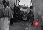 Image of funeral procession Alife Italy, 1943, second 4 stock footage video 65675029174