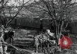 Image of unloading cargo Vailly France, 1918, second 8 stock footage video 65675029183