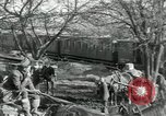 Image of unloading cargo Vailly France, 1918, second 10 stock footage video 65675029183