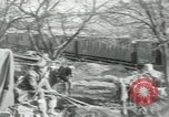 Image of unloading cargo Vailly France, 1918, second 11 stock footage video 65675029183