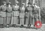 Image of French military women France, 1918, second 2 stock footage video 65675029184