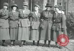 Image of French military women France, 1918, second 7 stock footage video 65675029184