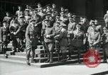 Image of Army Officers France, 1918, second 6 stock footage video 65675029189