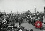Image of American 342nd Infantry Southampton Hampshire, 1918, second 6 stock footage video 65675029192