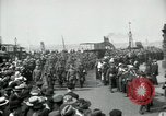 Image of American 342nd Infantry Southampton Hampshire, 1918, second 7 stock footage video 65675029192