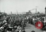 Image of American 342nd Infantry Southampton Hampshire, 1918, second 10 stock footage video 65675029192