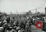 Image of American 342nd Infantry Southampton Hampshire, 1918, second 12 stock footage video 65675029192
